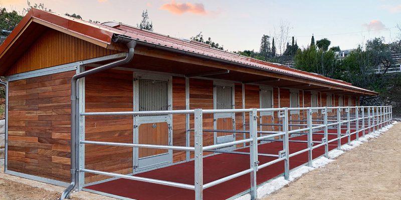 Boxes exteriores para caballos